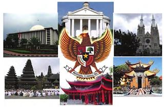 Agama Yang Diakui di Indonesia
