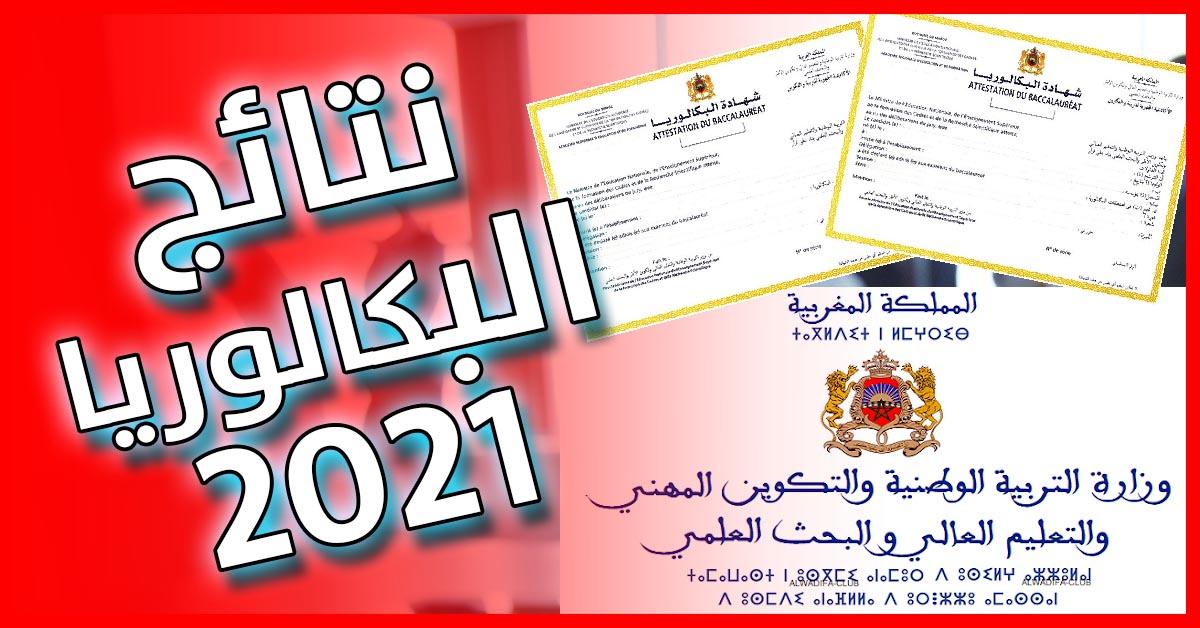 Resultats BAC 2021 au Maroc