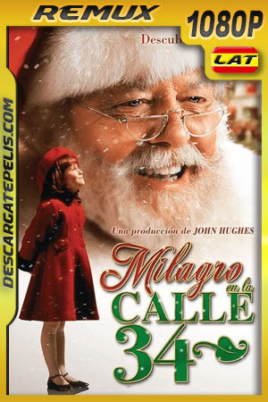 Milagro en la Calle 34 (1994) 1080p BDRemux Latino – Ingles