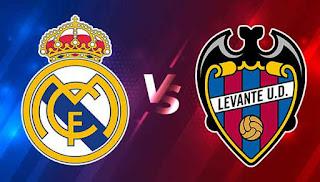 مشاهدة مباراة ريال مدريد وليفانتي اليوم الاحد الدوري الاسباني