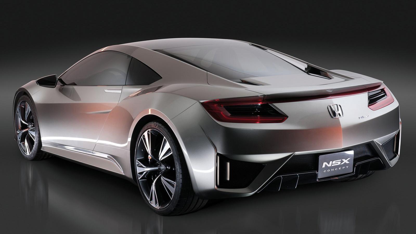 Car Wallpapers in Good Images: 2012 Honda NSX Concept V6