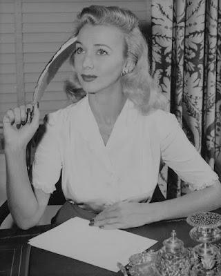 Carole Landis Writing