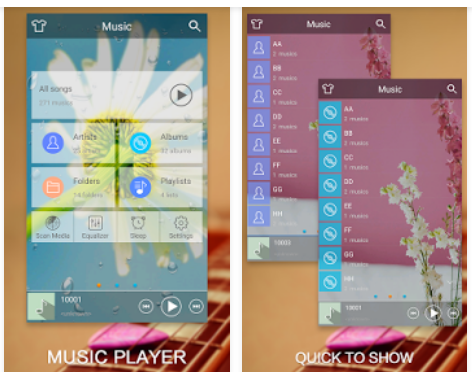 1. Music Player