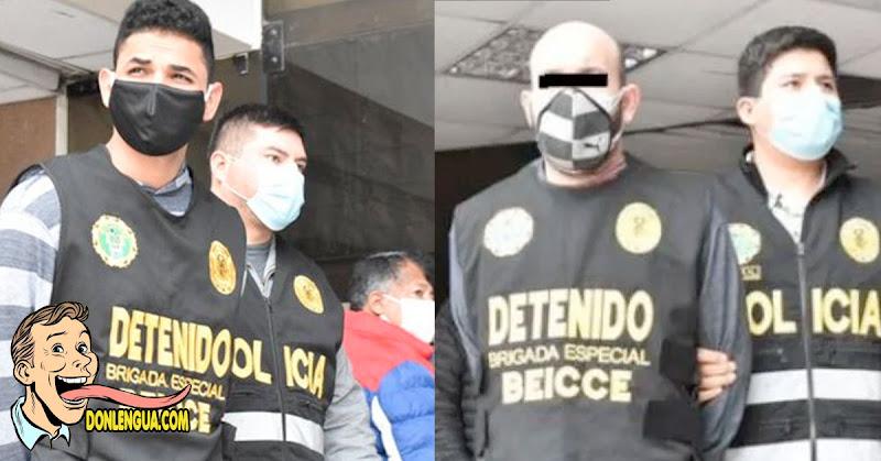 Capturan en Perú al principal descuartizador de el tren de Aragua