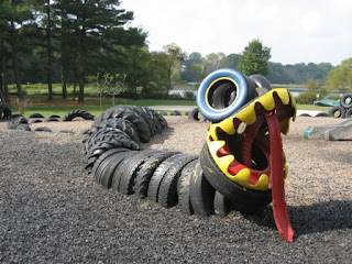 Sticks N Stones Upcycled Tires