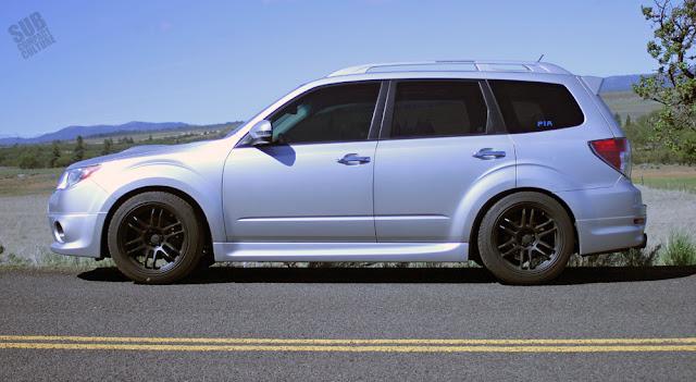 Lowered Subaru Forester