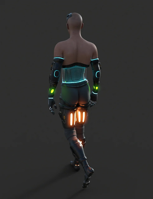 DIY Cyborg Outfit for Genesis 8 Males