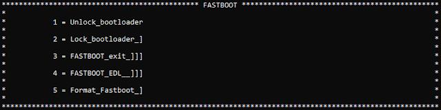 واجهة الفاست بوت Fast Boot