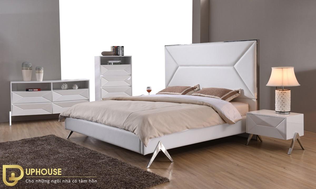 Nội thất phòng ngủ màu trắng 05