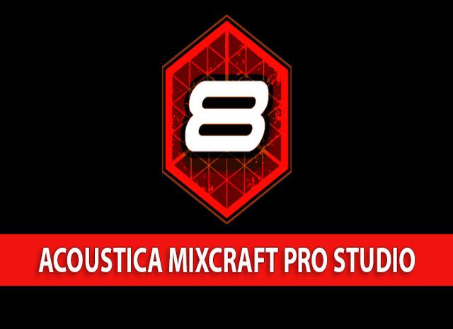 Acoustica Mixcraft Pro Studio -