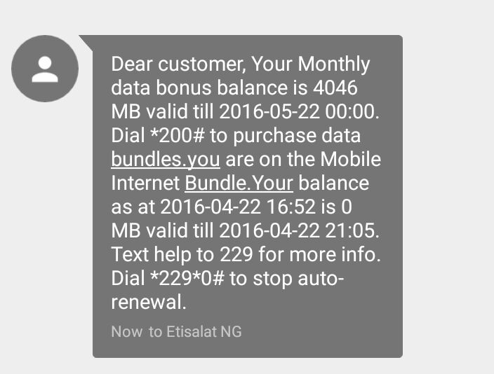 wantslimrot - Etisalat data bundles and activation codes