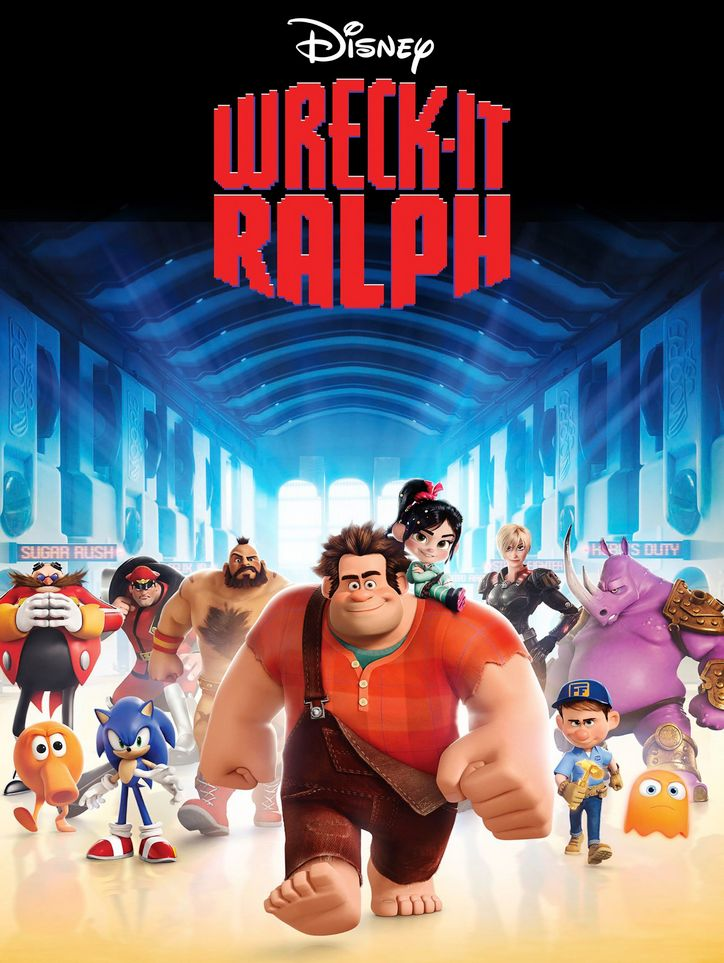 Wreck It Ralph (2012) Full Movie In Hindi 720p Bluray 751MB Download