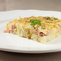 Švedsko božićno jelo od krompira sa lososom