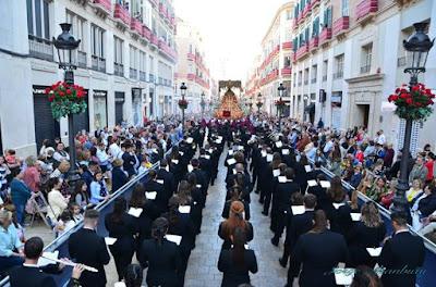 Borriquita de Algeciras firmar a la Banda de Música Zamarrilla