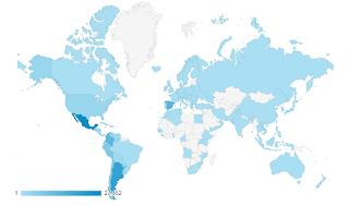 Mapa del tráfico del blog