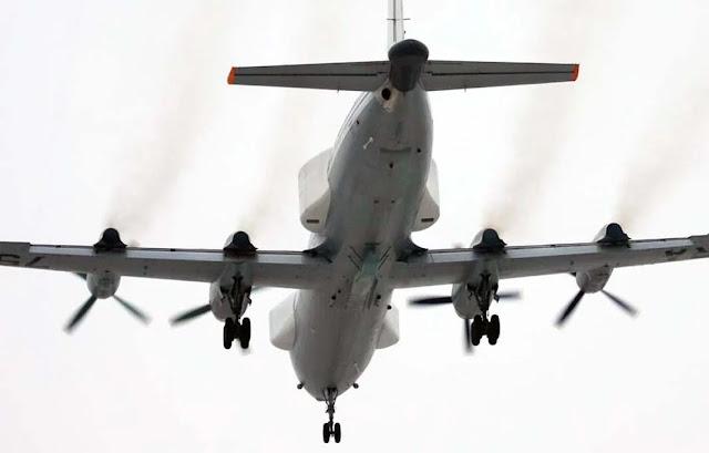 Hai máy bay tác chiến điện tử Il-22PP của Nga