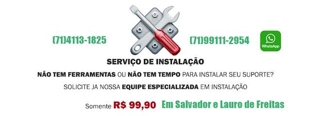 Instalação e Venda de Suporte de Tv em Salvador-BA-(71)4113-1825