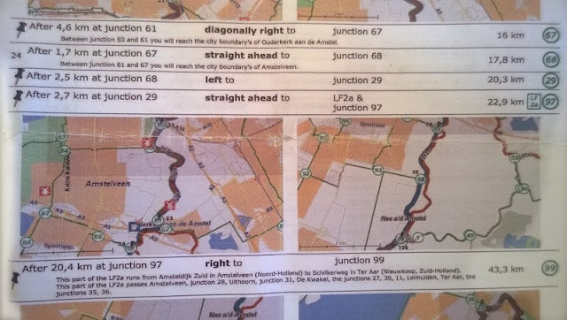 mappa itinerario Bunnik Amsterdam