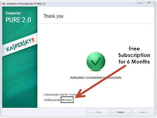 Free Download Kaspersky Pure 2.0 Total Security License Key