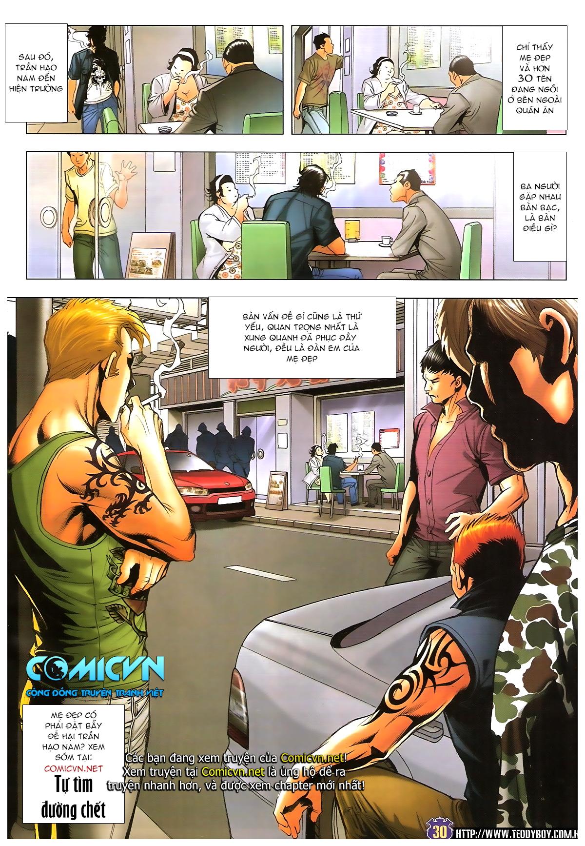 Người Trong Giang Hồ chapter 1647: sinh tư chung kết trang 28