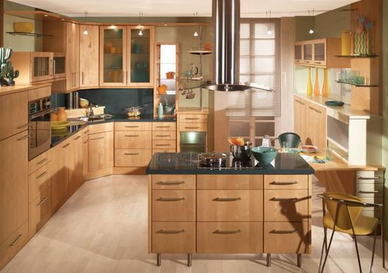 alat-alat dapur yang modern