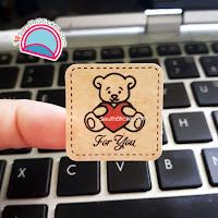 tem kraft gấu trái tim