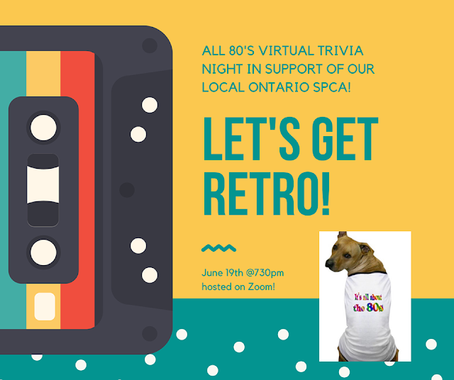 OSPCA hosting totally 80's inspired trivia night to support pets in need