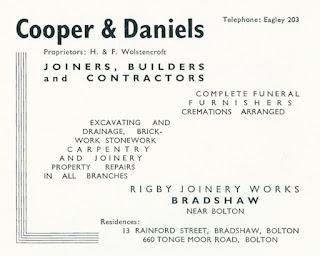 Cooper & Daniels, Bradshaw