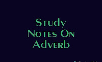 Study notes on ADVERB for SSC, BANK and other exams