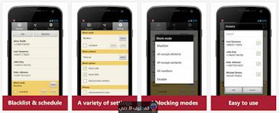 تطبيق Blacklist Plus - Call Blocker ، موقع المحترف الأردني
