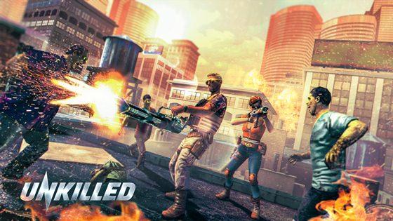 تحميل لعبة الأكشن Unkilled للأندرويد برابط مباشر مع التحديث