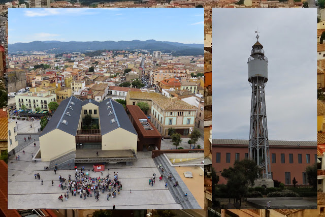 The water tower in Palafrugell in Costa Brava, Spain