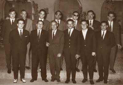 Equipo del Terrassa, Campeón de Cataluña de ajedrez en 1964