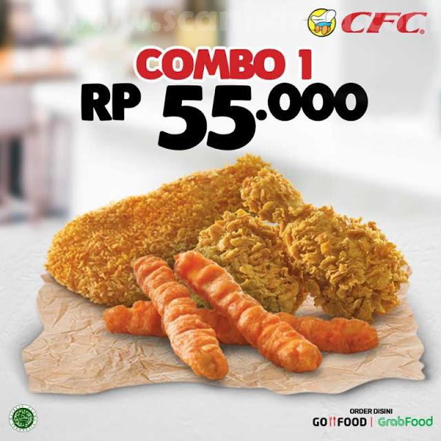 Promo CFC Paket Combo 1 Hanya Rp 55Rb (nett)