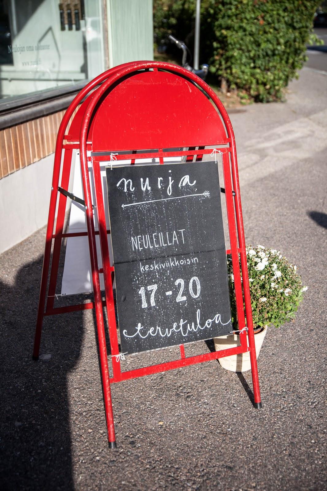 Nurja neuleillat Tampere Ilmarinkatu