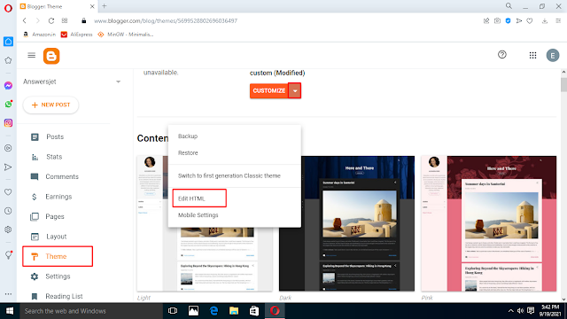 How to Add a Contact Form in Blogger Static Page