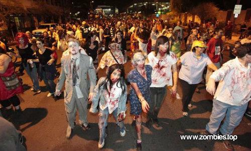 Marcha Phoenix Zombie Walk en Arizona