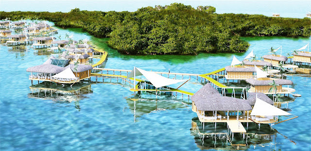 Bocas del Toro ofrece una variedad de paisajes y bellezas naturales que van desde vastas selvas tropicales que albergan muchas especies de aves, mamíferos y reptiles, incluidas varias especies en peligro de extinción, hasta bellezas marinas impresionantes, enormes arrecifes de coral que son los más largos de todos Los manglares del Caribe