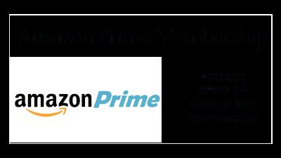 Amazon Offers: Get 14 days Free Prime Membership on Amazon