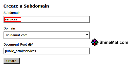 setup subdomain in blogger blog