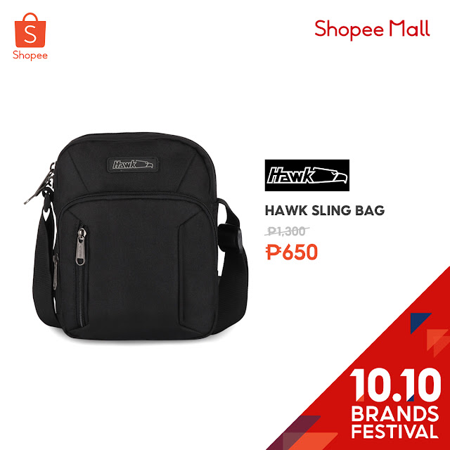 Hawk Sling Bag 50% Off on Shopee's 10.10 Brands Festival