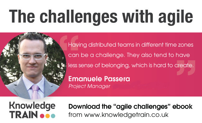 """Free e-book """"What are the most common challenges with agile?"""""""
