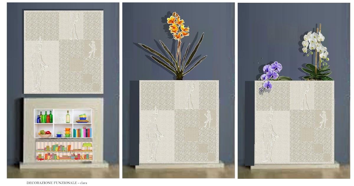 Camino pannello decorativo funzionale - Pannello decorativo design ...