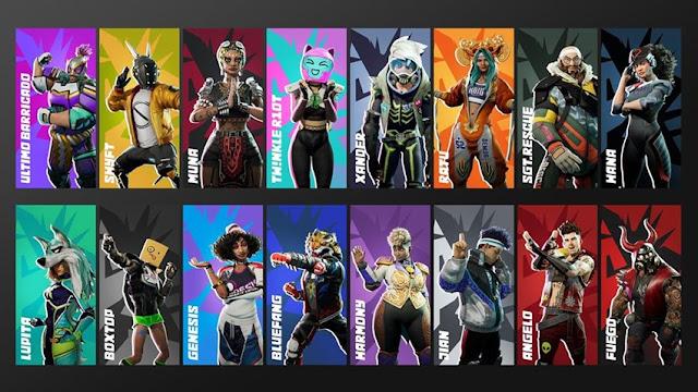 Personajes Destruction AllStars