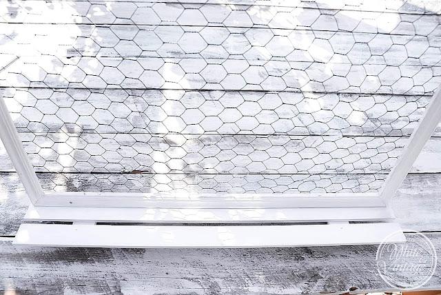 Wandboard mit Ablage selber machen.
