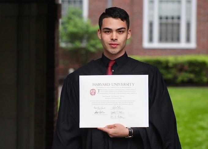 Harvard Graduate Shares Inspiring Success Story