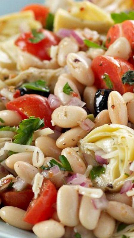 Mediterranean Bean Salad#healthyrecipeseasy #healthyrecipesdinnercleaneating #healthyrecipesdinner #healthyrecipesforpickyeaters #healthyrecipesvegetarian #HealthyRecipes #HealthyRecipes #recipehealthy #HealthyRecipes #HealthyRecipes&Tips #HealthyRecipesGroup  #food #foodphotography #foodrecipes #foodpackaging #foodtumblr #FoodLovinFamily #TheFoodTasters #FoodStorageOrganizer #FoodEnvy #FoodandFancies #drinks #drinkphotography #drinkrecipes #drinkpackaging #drinkaesthetic #DrinkCraftBeer #Drinkteaandread #RecipesFood&Drink