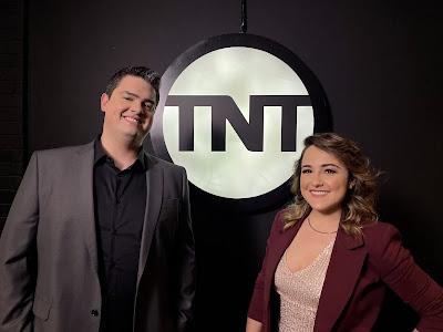Michel Arouca e Aline Diniz - Divulgação TNT