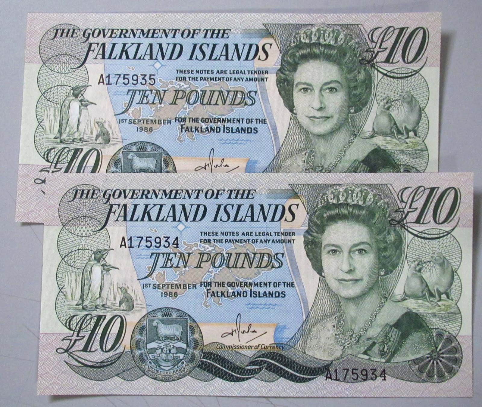 Ever Seen A Falkland Island S 10 Note Before