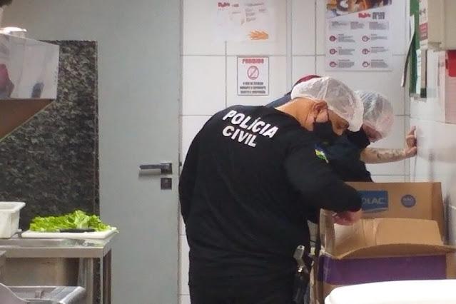 Operação da Polícia Civil, Procon e Vigilância Sanitária no Porto Velho Shopping